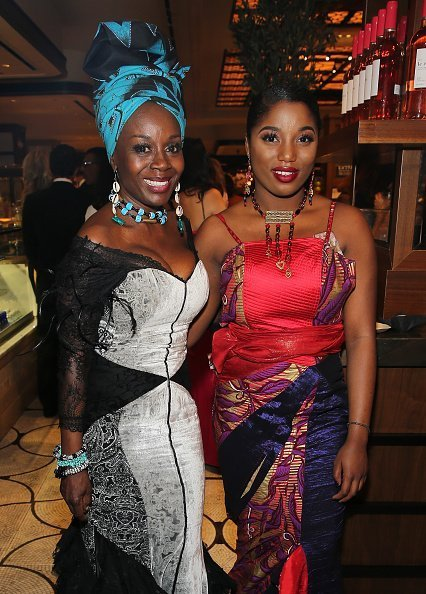 Hadar Busia Singleton and actress Akosua Busia at the after party for the 2016 Tony Awards Gala on June 12, 2016  | Photo: Getty Images