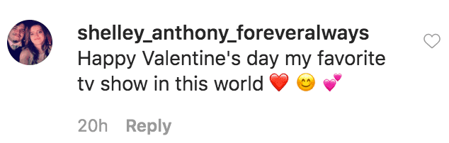 A fan comments on a picture of Zoey and Will Klein in a Valentine's day tribute posted by Jennifer Arnold  | Source: instagram.com/jenarnoldmd