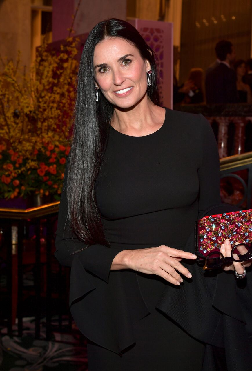 Demi Moore at The Women's Cancer Research Fund's Gala. | Source: Getty Images
