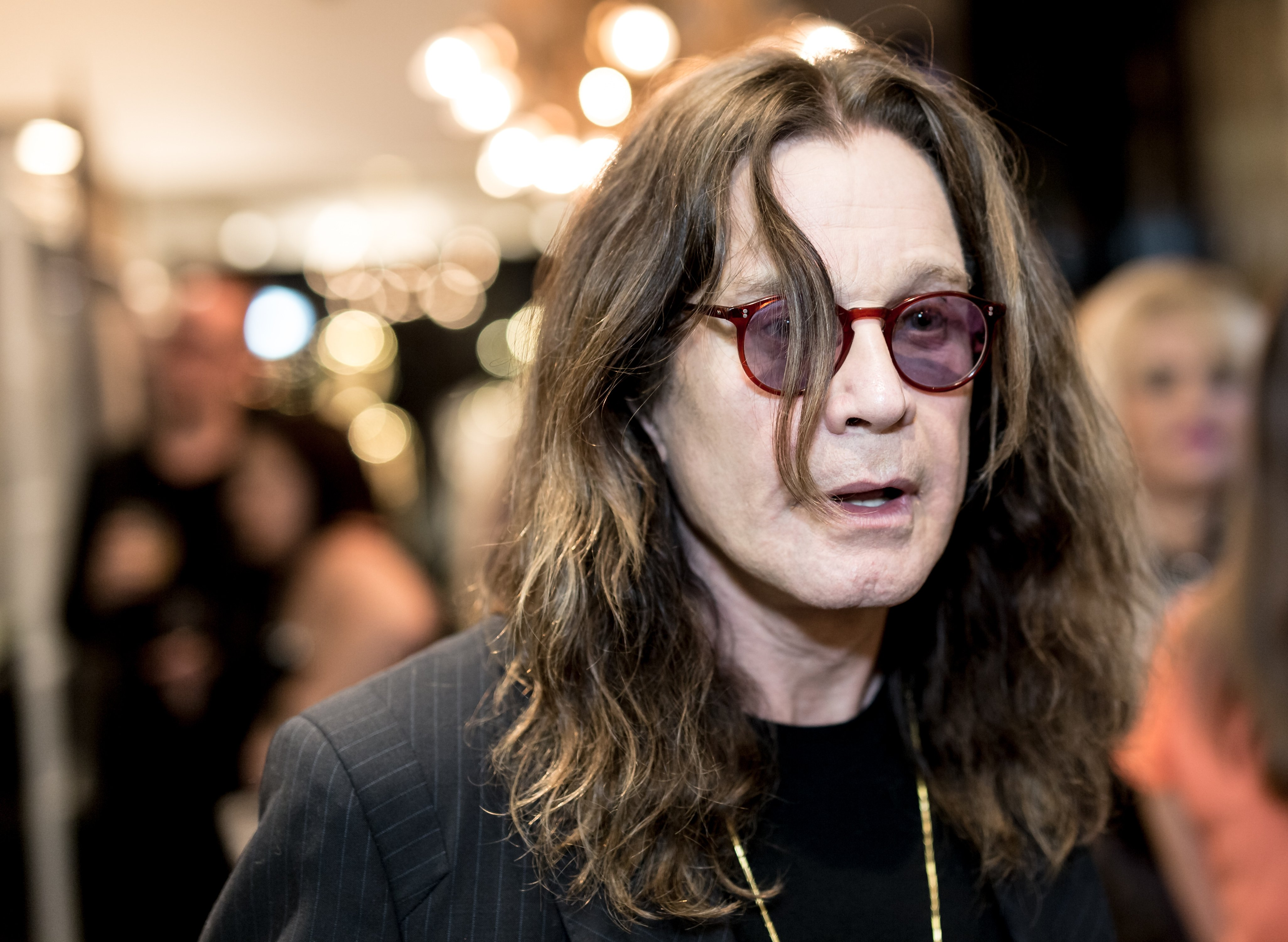 Ozzy Osbourne on September 28, 2017 in Los Angeles, California | Source: Getty Images/Global Images Ukraine