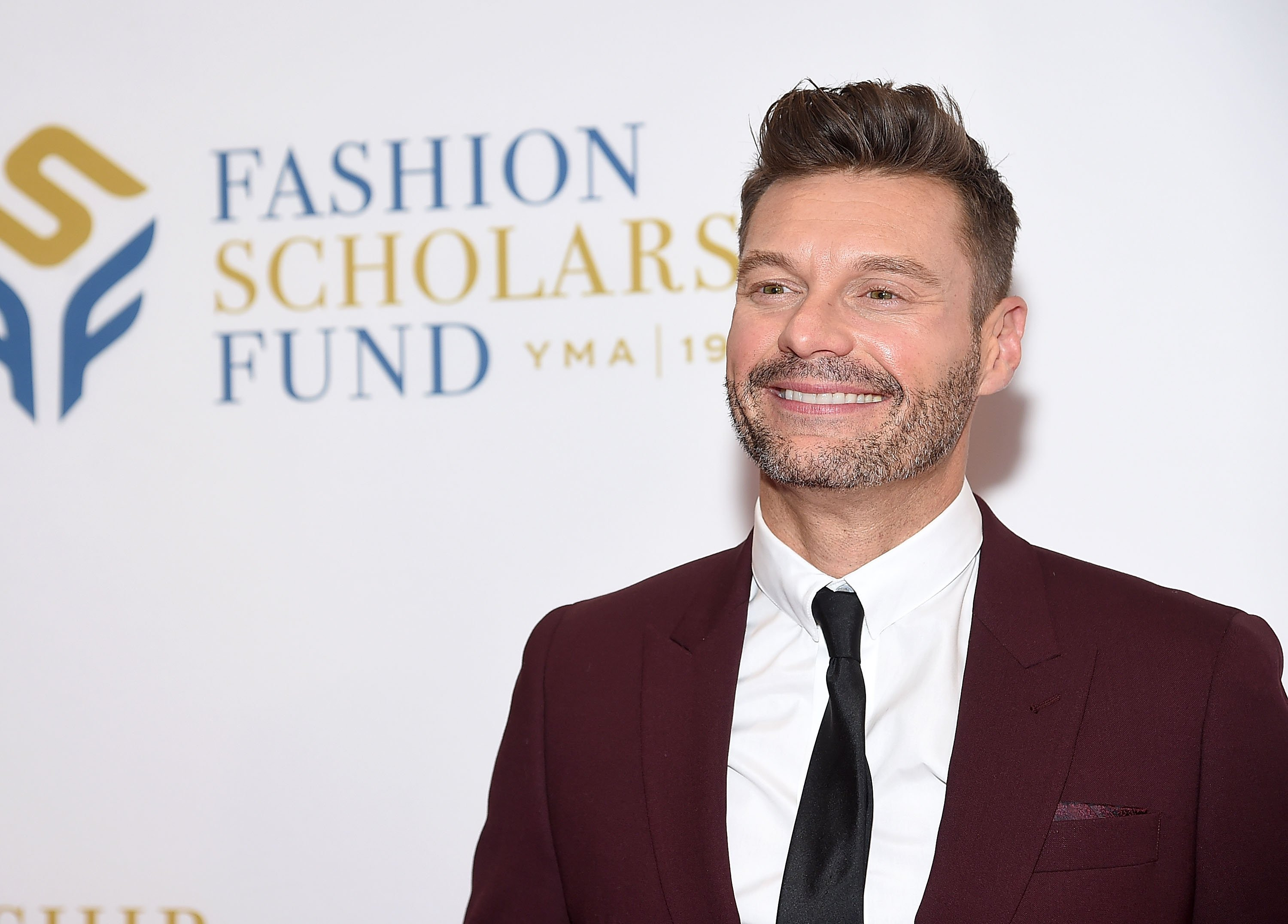 Ryan Seacrest at the 2019 Fashion Scholarship Fund Awards Gala on January 10 in New York City | Photo: Getty Images