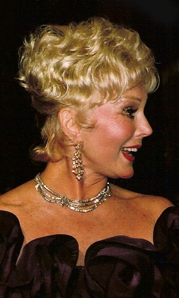 Eva Gabor. | Source: Wikimedia Commons