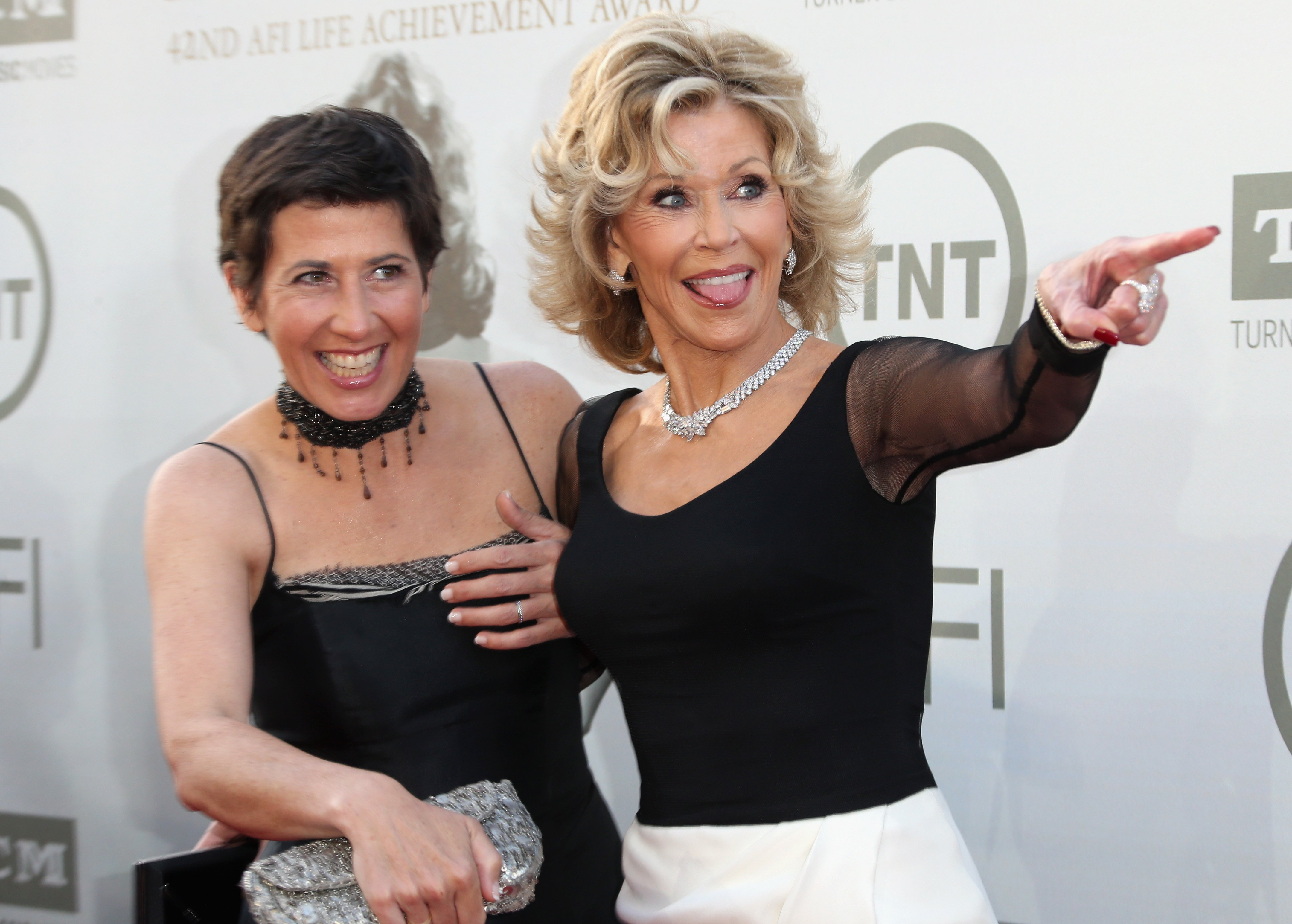 Vanessa Vadim and Honoree Jane Fonda attend the 2014 AFI Life Achievement Award: A Tribute to Jane Fonda at the Dolby Theatre on June 5, 2014 | Photo: GettyImages