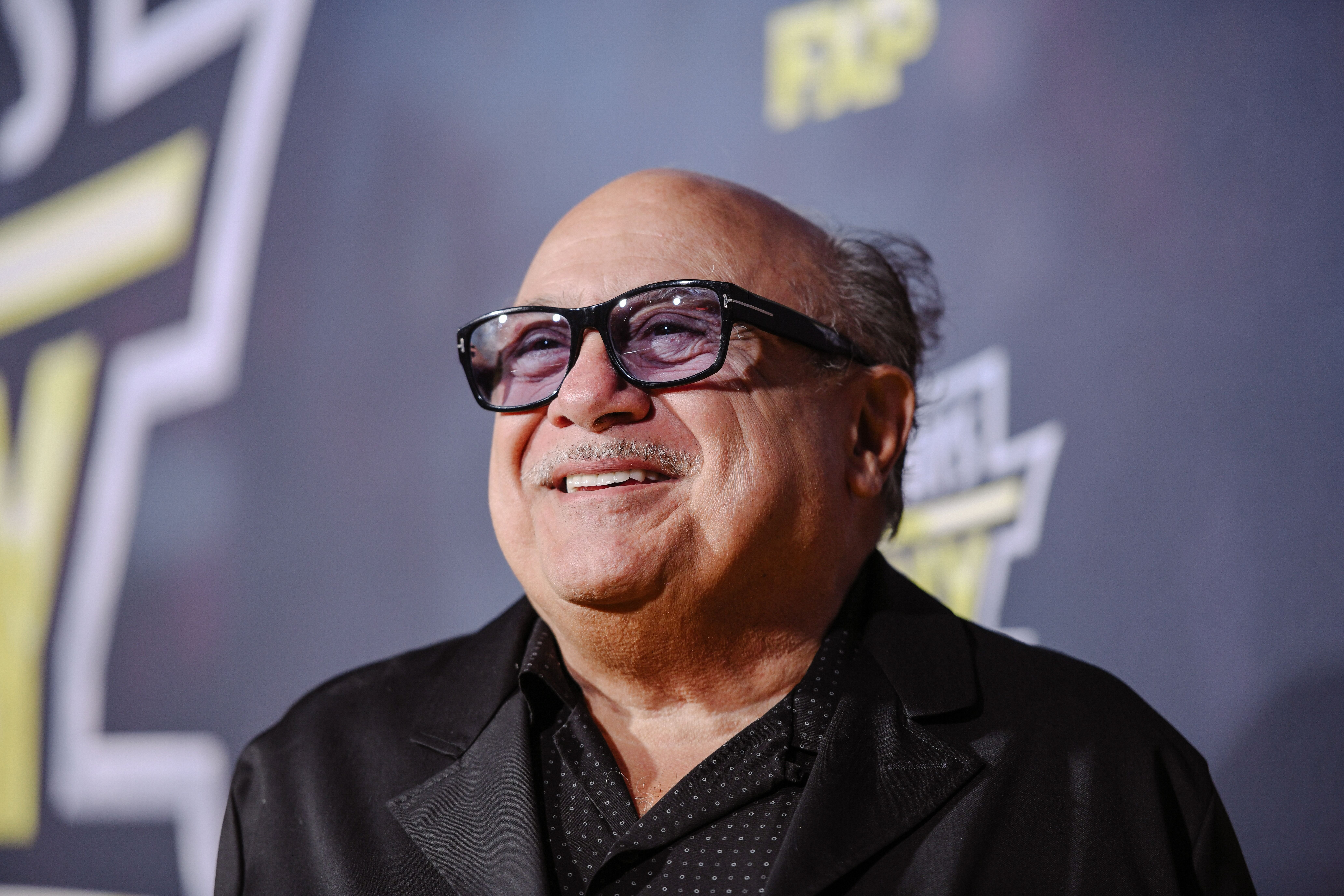 "Danny DeVito arrives at the premiere of FX's ""It's Always Sunny In Philadelphia"" season 14. 