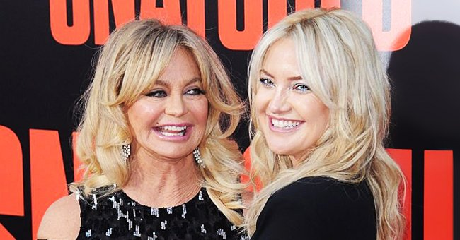 Kate Hudson & Goldie Hawn Say They Talk about Anything and Everything