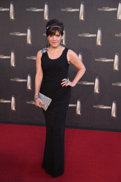 Birgit Schrowange, Deutscher Fernsehpreis, 2011   Quelle: Getty Images