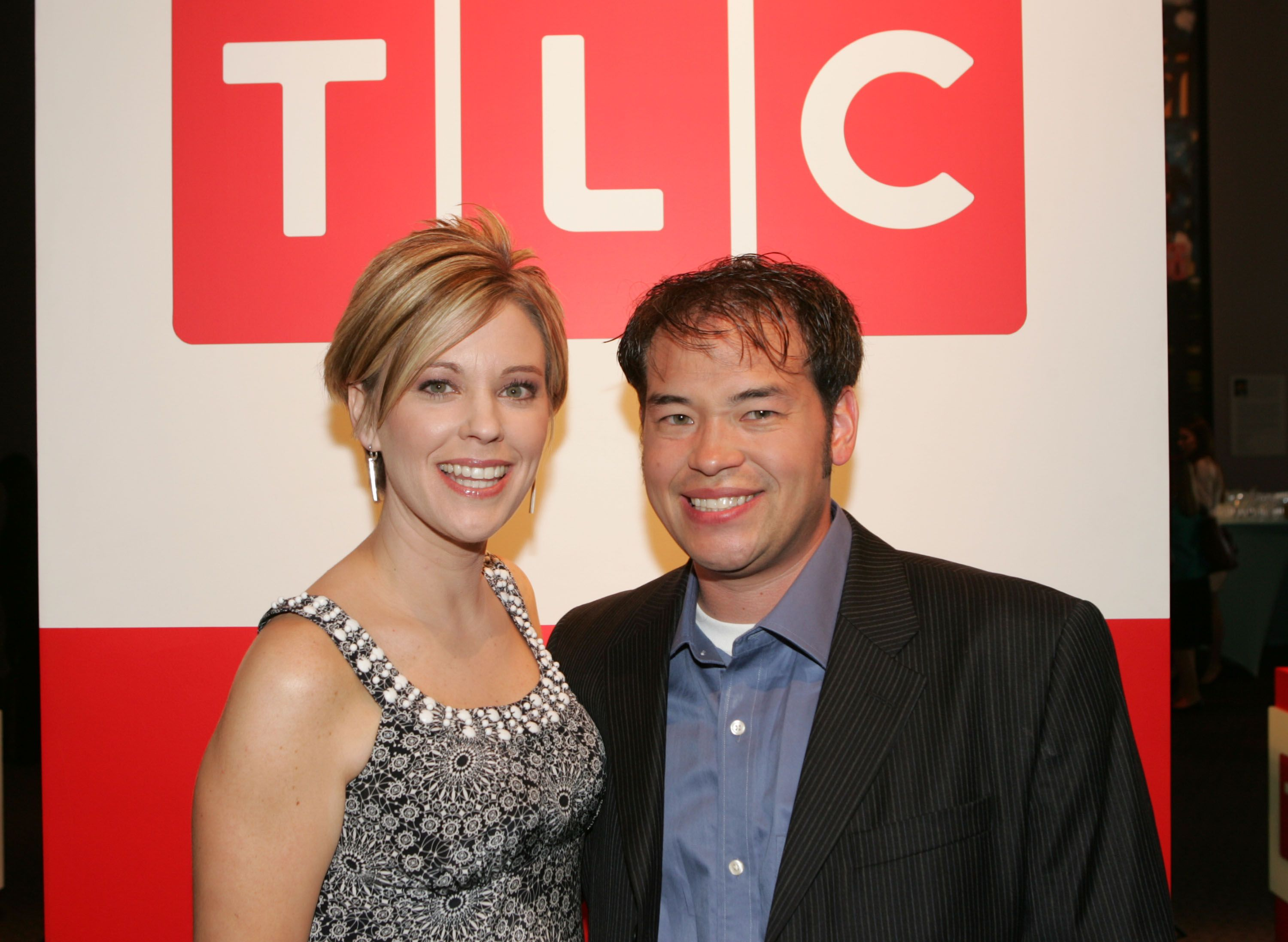 John and Kate Gosselin atthe Discovery Upfront Presentation NY - Talent Images event on April 23, 2008, in New York City | Photo: Thos Robinson/Getty Images