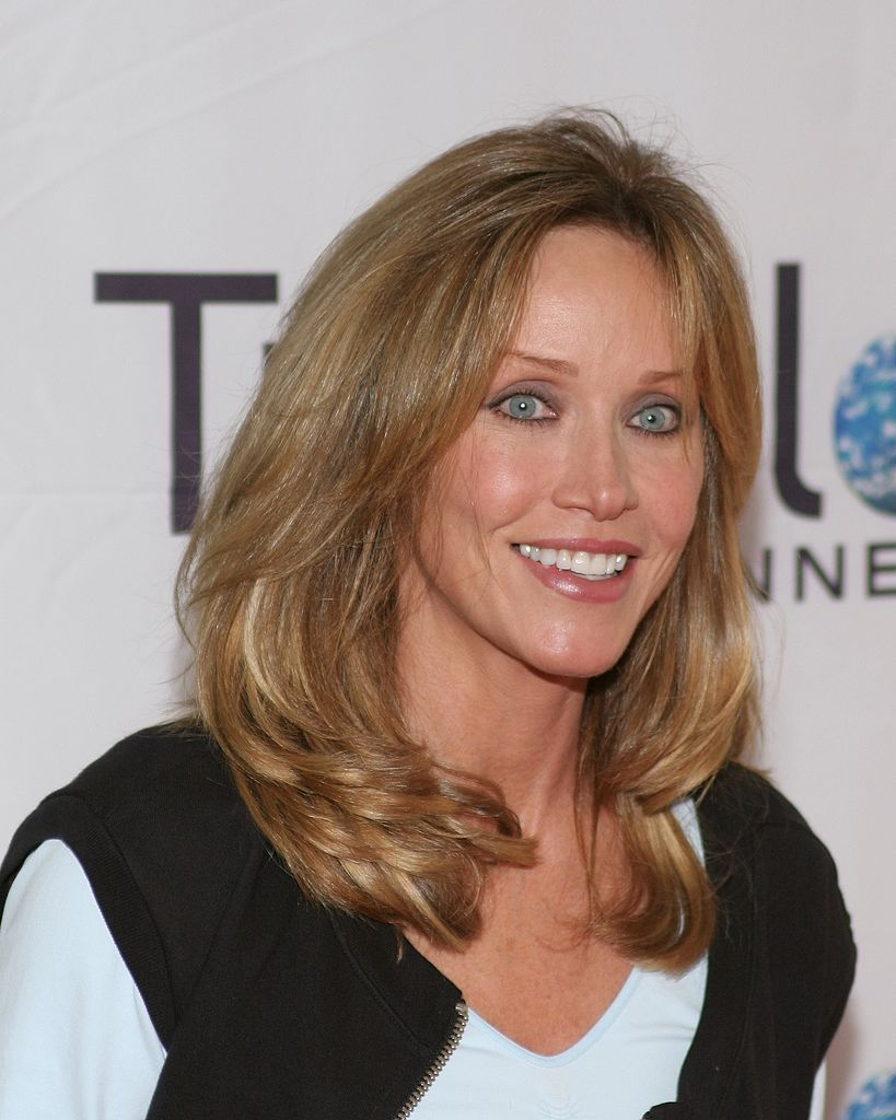 Tanya Roberts Arrivals at World Poker Tour Invitational at the Commerce Casino on February 23, 2005 | Photo: Getty Images