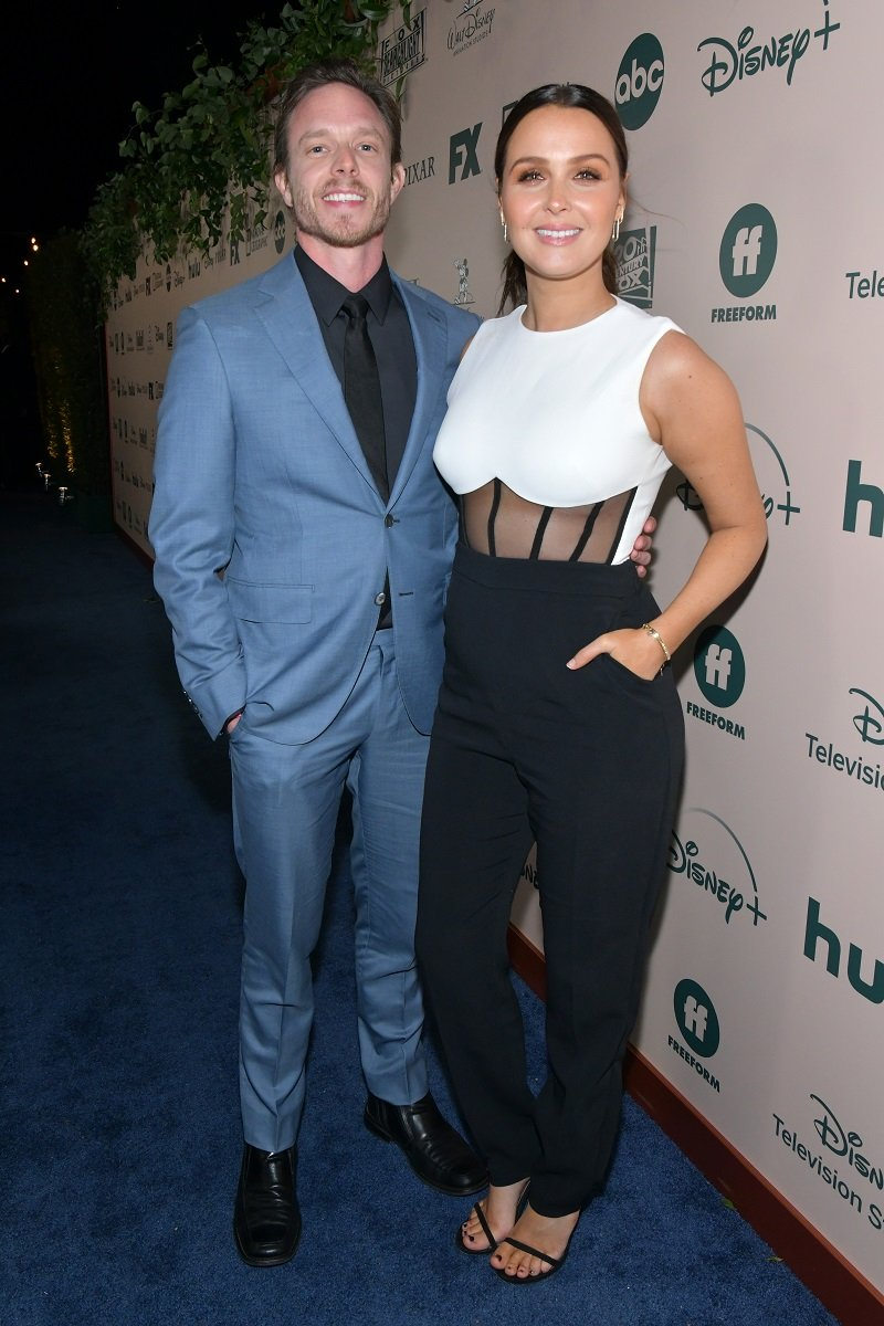 Matthew Alan and Camilla Luddington on January 05, 2020 in Beverly Hills, California | Photo: Getty Images