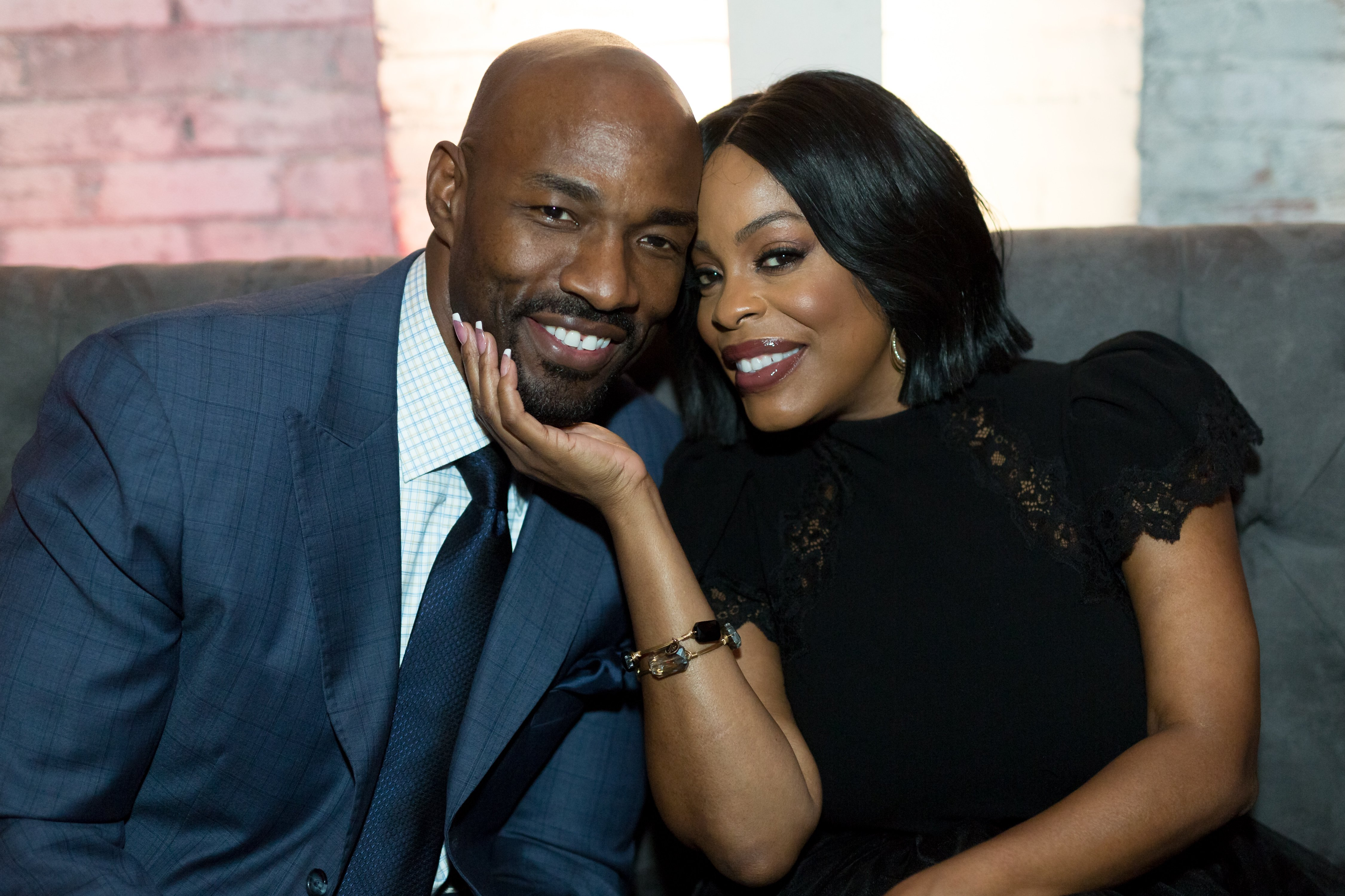 Jay Tucker and Niecy Nash attending an event in November 2017. | Photo: Getty Images