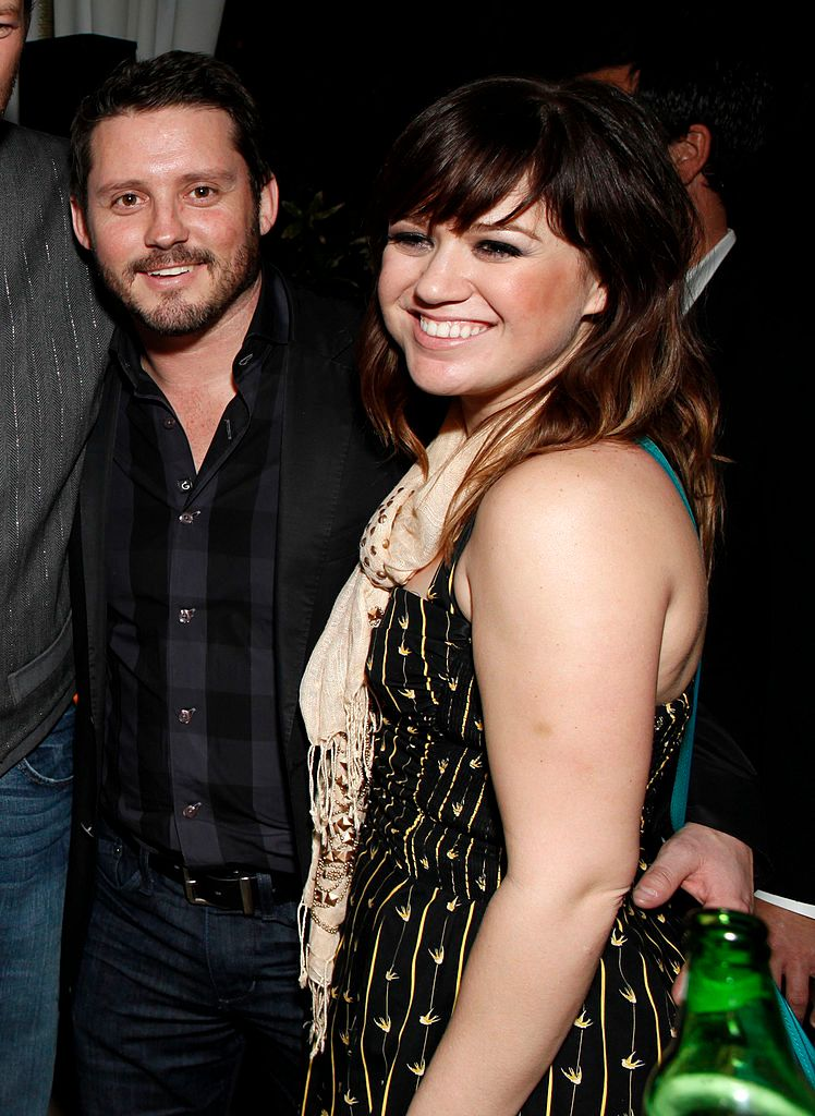 Brandon Blackstock and Kelly Clarkson atWarner Music Group's Grammy Celebrationat Chateau Marmont on February 12, 2012, in Los Angeles, California   Photo:Todd Williamson/Getty Images