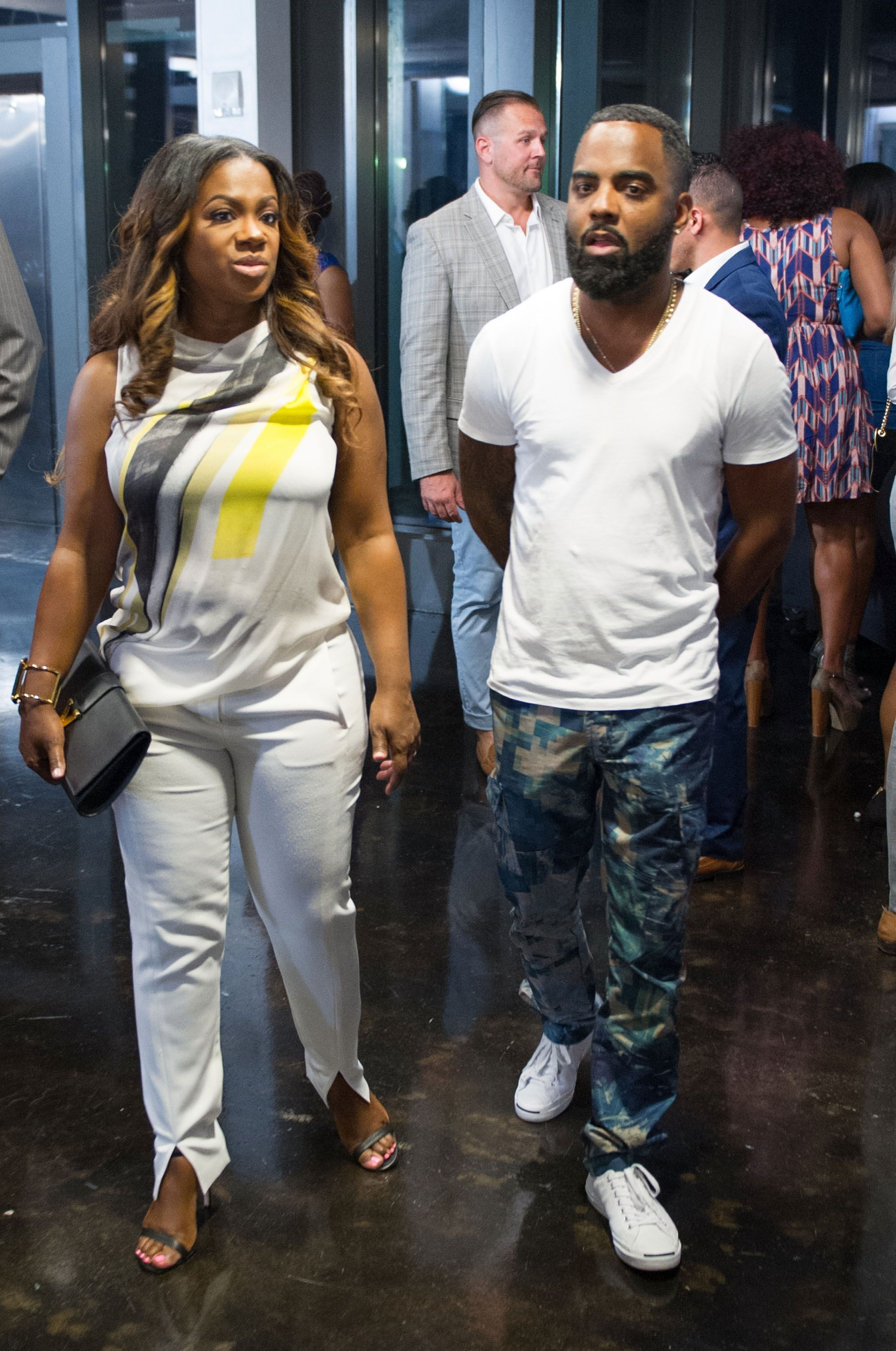 Kandi Burruss-Tucker and Todd Tucker attend Cynthia Bailey Eyewear launch party at Ventanas on August 7, 2015 in Atlanta, Georgia | Photo: Getty Images