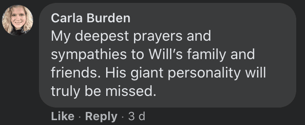 Commenters react to news of a young man's passing after he was shot dead | Photo: Facebook/Doak-Howell-Funeral-Home