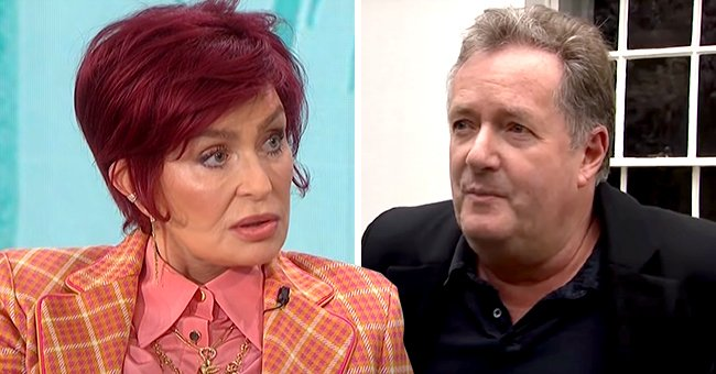 'The Talk's Sharon Osbourne Says CBS Caught Her off Guard Her with Question about Piers Morgan