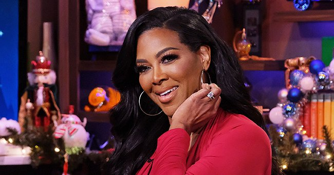 Kenya Moore's Baby Brooklyn Glows with Joy behind the Wheel of Her White Convertible (Video)