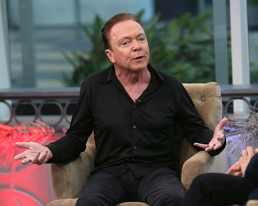 Singer David Cassidy attends Hollywood Today Live at W Hollywood on December 14, 2016 | Photo: Getty Images