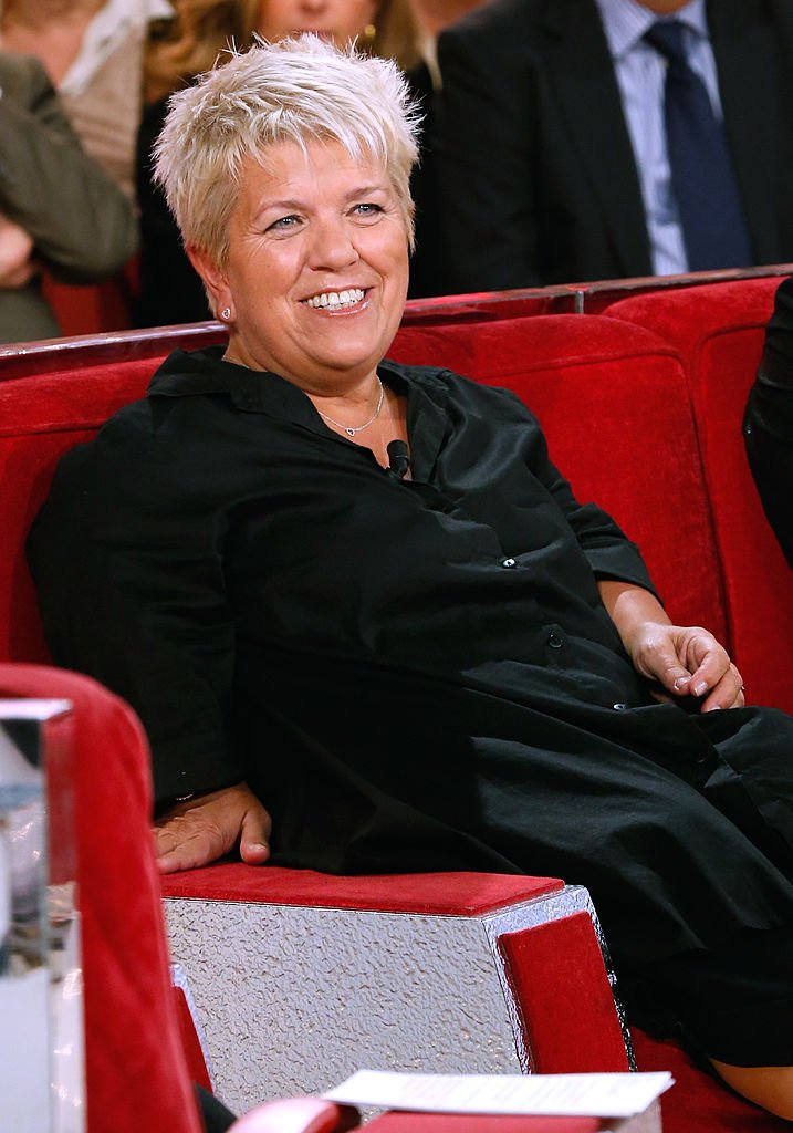 Mimie Mathy souriante / Source : Getty Images