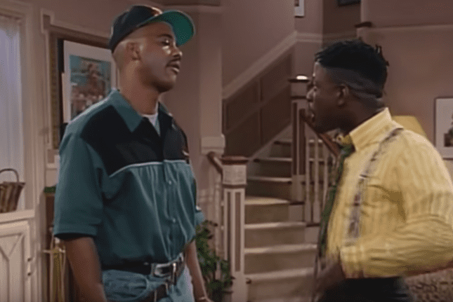 """John Henton during his days on screen as Obie Jones in the American sitcom, """"Living Single."""" 