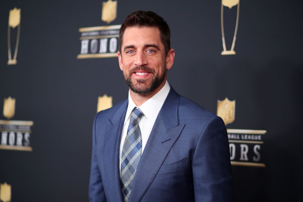 Aaron Rodgers at the NFL Honors at University of Minnesota on February 3, 2018 | Getty Images