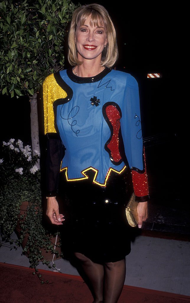 Sarah Purcell attends the opening party for Escada on October 23, 1991 at the Beverly Wilshire Hotel in Beverly Hills, California | Photo: GettyImages