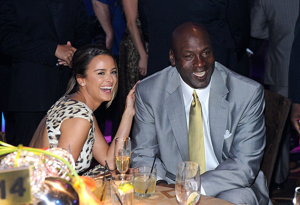Michael Jordan and fiancee Yvette Prieto attend the 11th annual Michael Jordan Celebrity Invitational gala at the Aria Resort & Casino at CityCenter March 30, 2011 in Las Vegas, Nevada | Photo: GettyImages