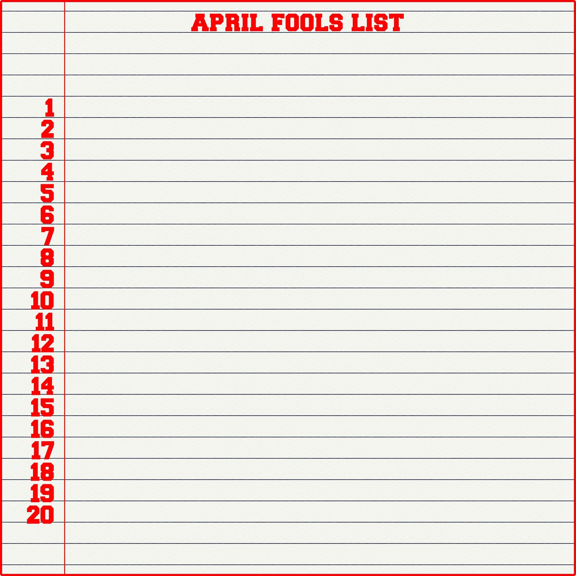 April Fool's Day background | Source: Pixabay