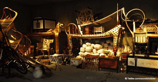 L'exposition Toutânkhamon, le trésor du Pharaon, à Paris avec déjà plus de 130 000 billets vendus