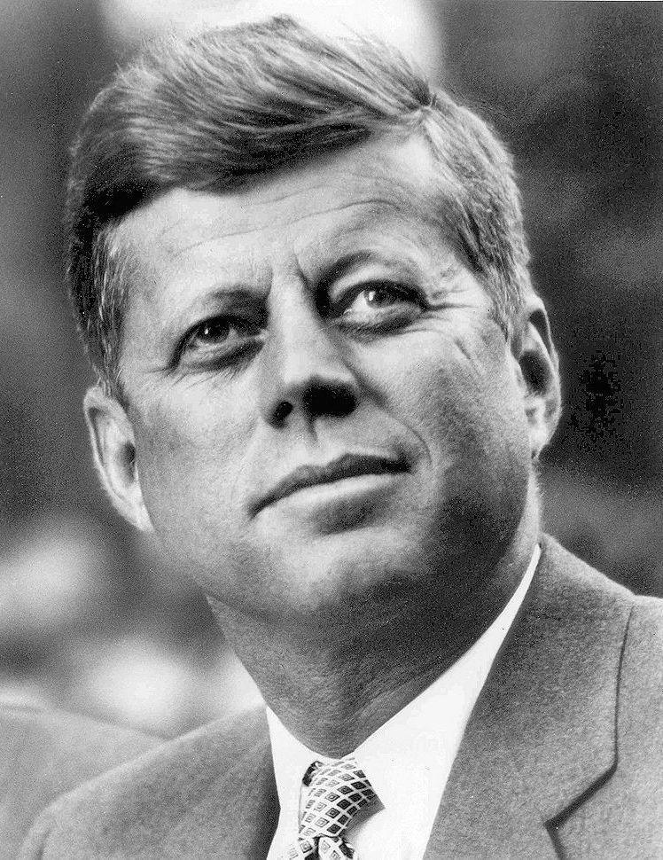 A portrait of the former US President John F. Kennedy circa. 1961 | Source: Wikimedia Commons
