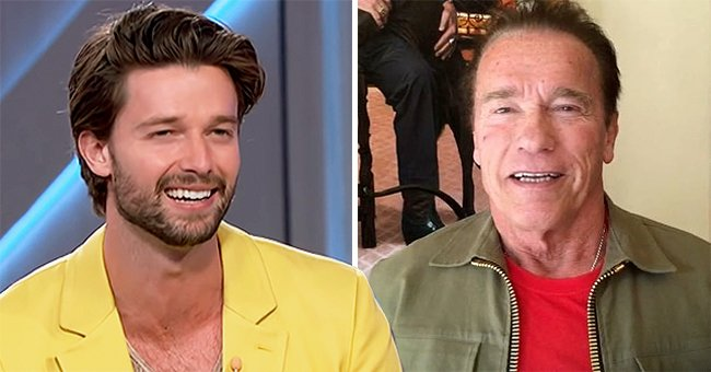 Arnold Schwarzenegger's Son Patrick Admits His Dad Uses Iconic Phrases from His Movies a Lot