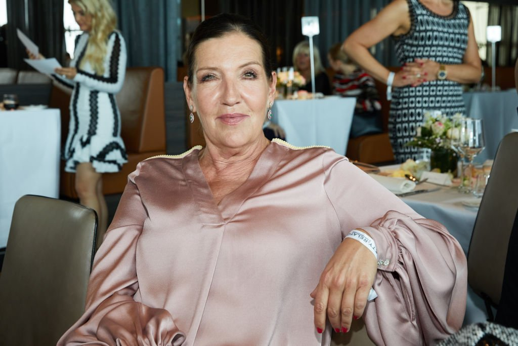 Katy Karrenbauer nimmt am Ladies Lunch zugunsten von Schlaganfall betroffenen Kindern im Le Meridien Hamburg an der Alster teil. (Foto von Georg Wendt) l Quelle: picture alliance via Getty Images