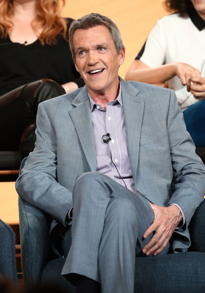 """Neil Flynn speaks on the """"Abby's"""" panel during the NBCUniversal portion of the Television Critics Association Winter Press Tour 
