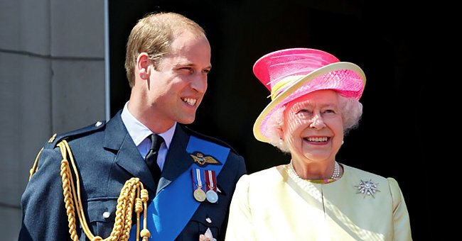 Throwing It Back to the Rare Video of Queen Elizabeth Running after Little Prince William