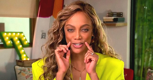 Tyra Banks Gives Drew Barrymore a 'Smizing' Masterclass on Her New Show