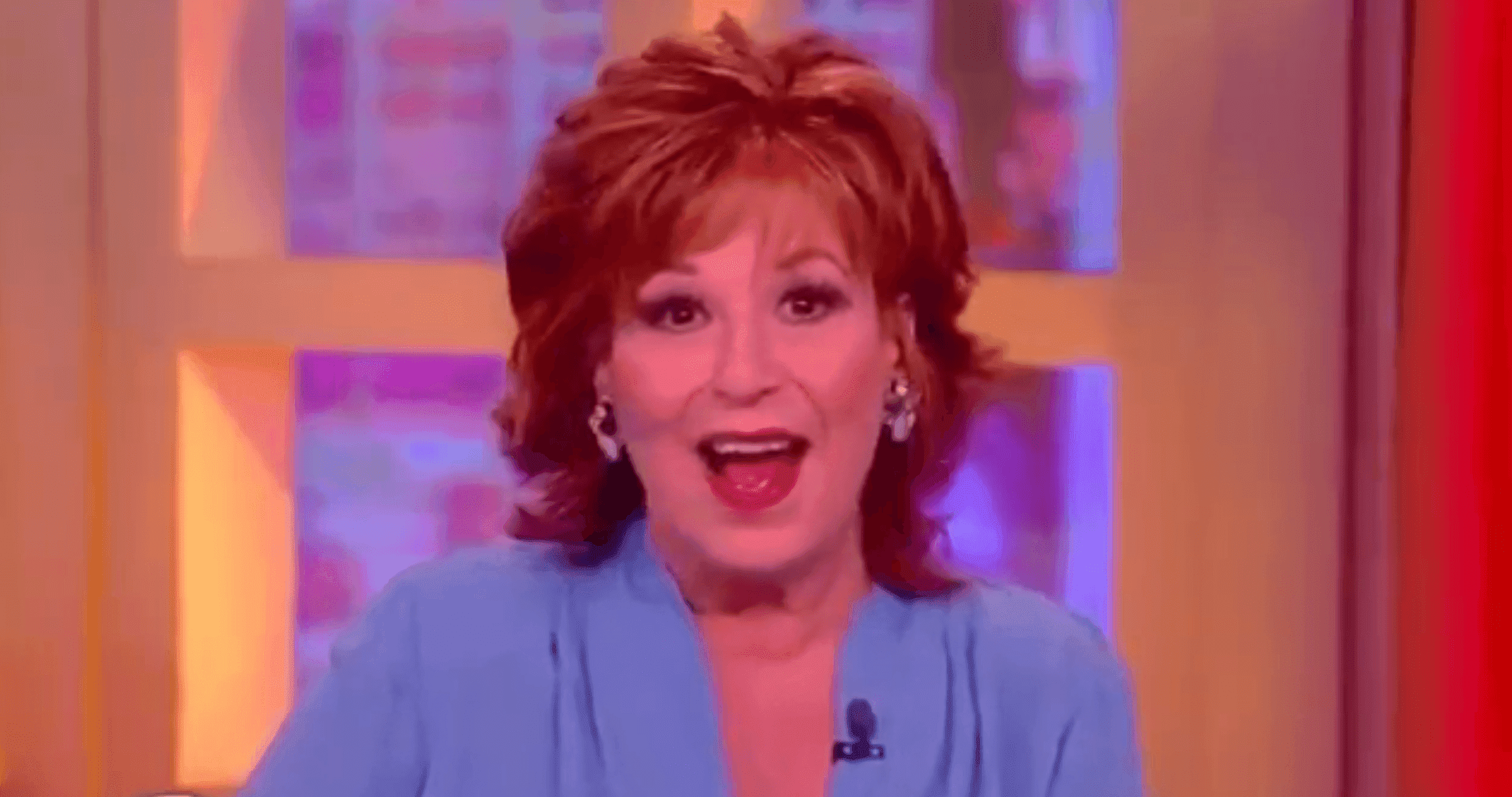 """Joy Behar during a taping of """"The View"""" 