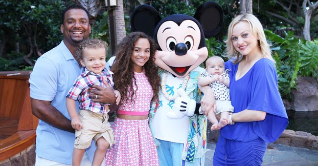 Alfonso Ribeiro's 19-Month-Old Daughter Looks Adorable in New Shoot in a White Checkered Dress