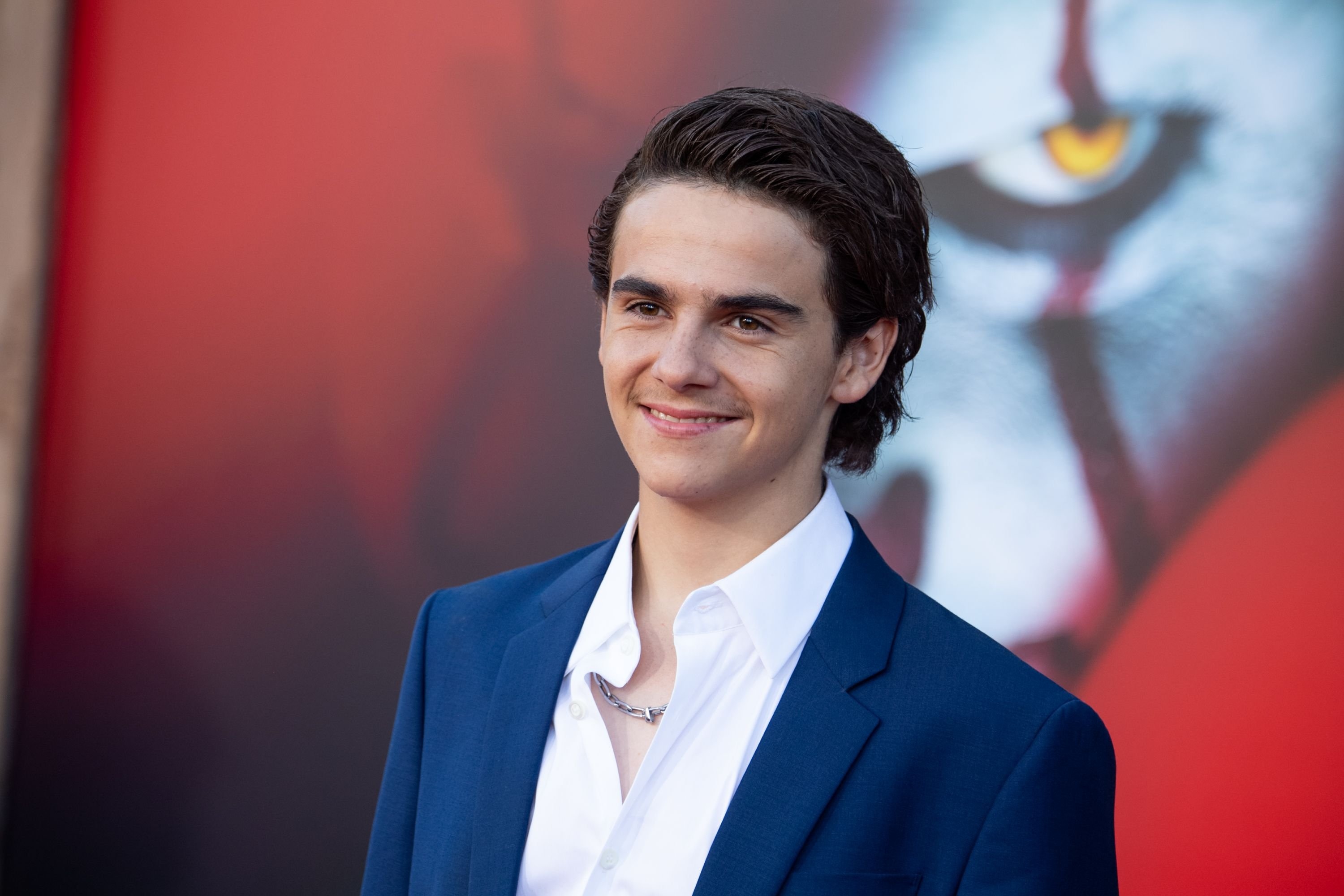"""Jack Dylan Grazer at the premiere of """"It Chapter Two"""" in August 2019 in Westwood, California 
