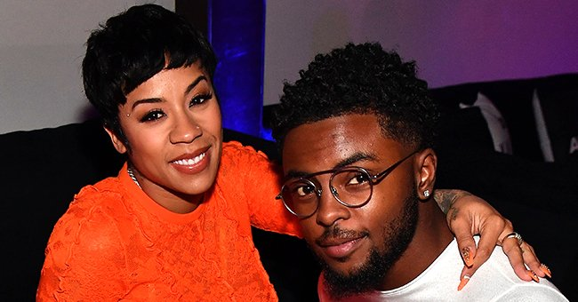 Keyshia Cole's Baby Son Tobias Khale Rocks Adorable Ponytail and Striped Outfit in New Photos