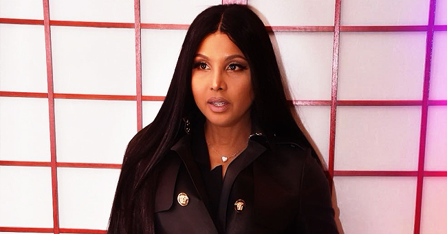 'As Long as I Live' Singer Toni Braxton Posted Photo of Son Denim with Facial Hair and Fans Weighed In