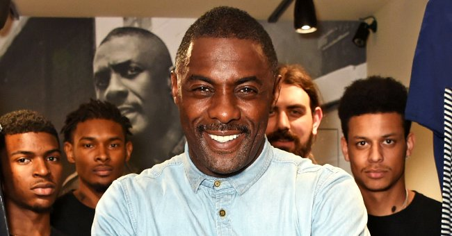 Idris Elba's Daughter Isan Is Grown-up & Stunning in a Blue Sweater in Recent Snaps