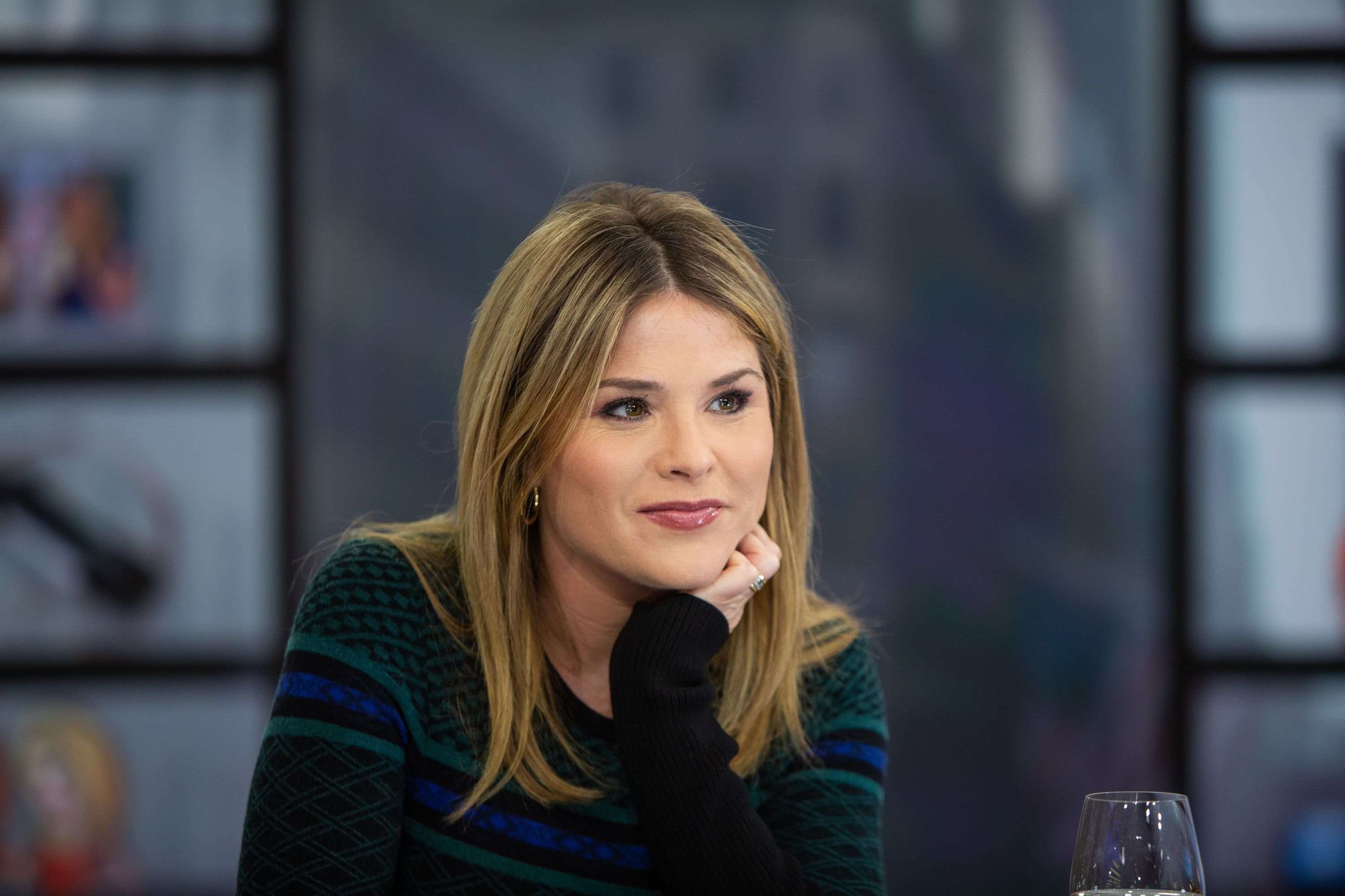 """Jenna Bush Hager during an episode of the """"Today"""" show on NBC 