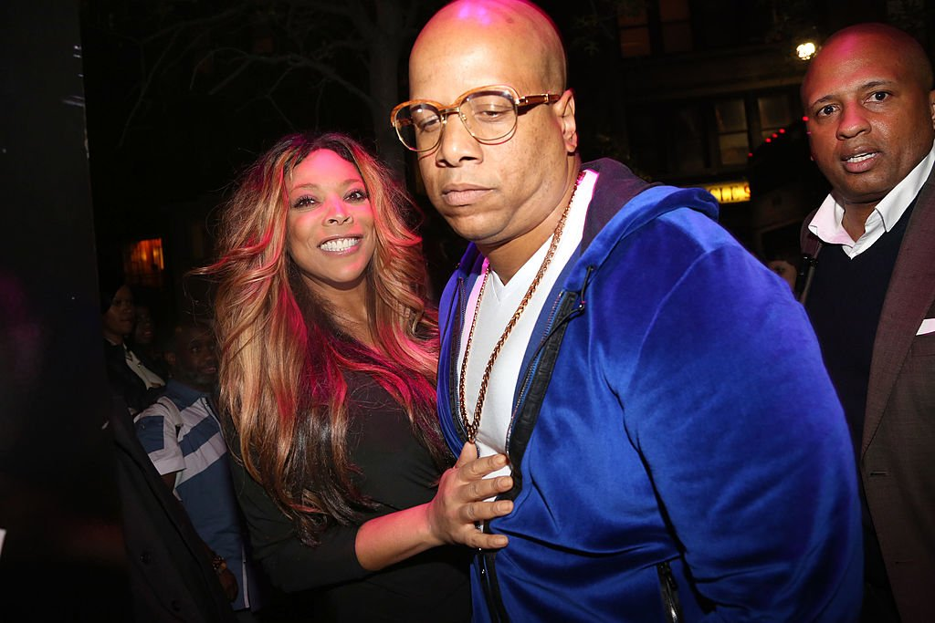 "Wendy Williams, Hunter Kevin and Carlos Narcisse at the ""Ask Wendy"" Book Release Party at Pink Elephant on May 9, 2013 