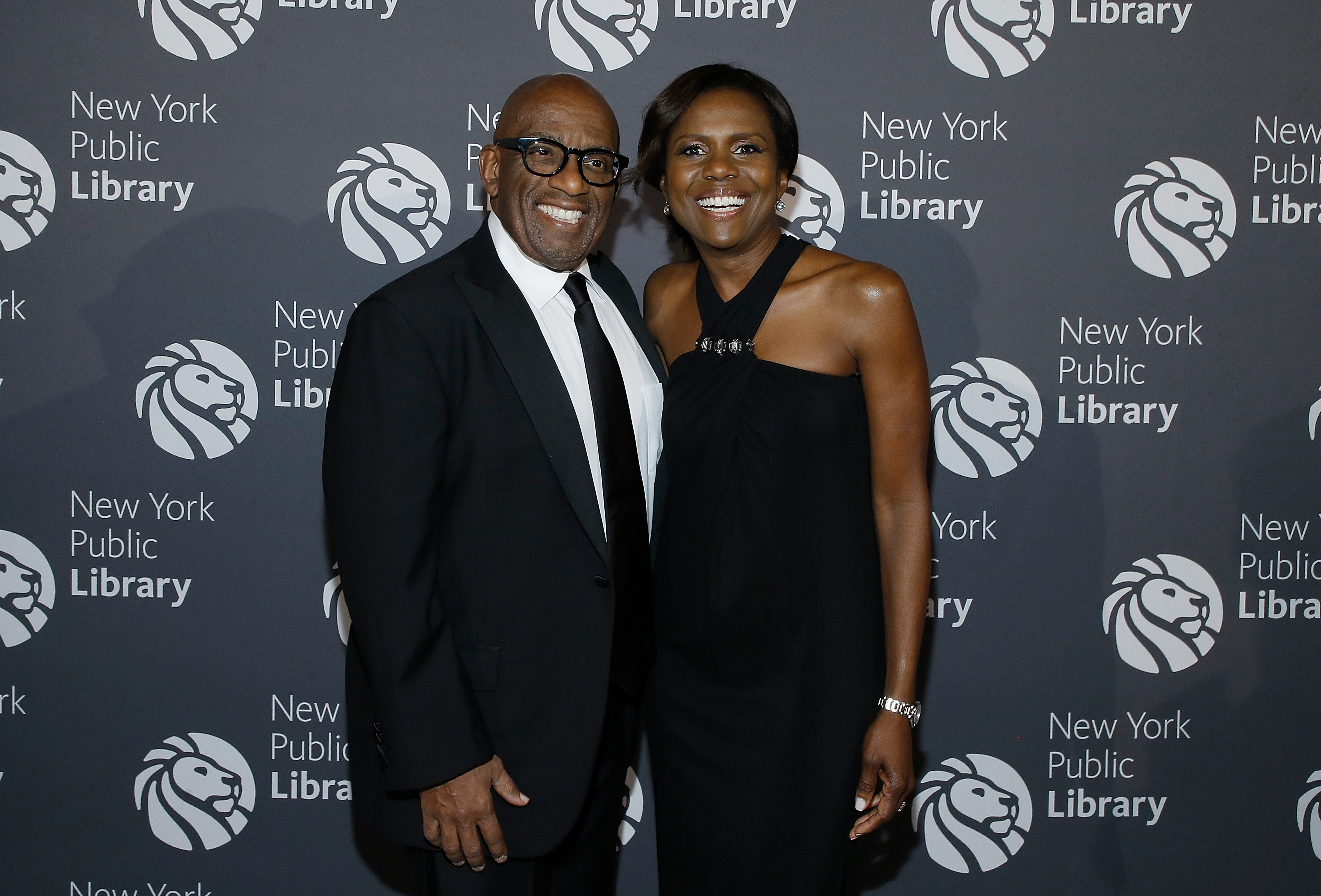 Al Roker and Deborah Roberts attends the New York Public Library 2017 Library Lions Gala at the New York Public Library at the Stephen A. Schwarzman Building on November 6, 2017, in New York City. | Source: Getty Images.