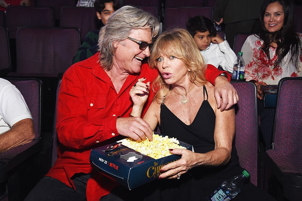 Kurt Russell and Goldie Hawn. I Image: Getty Images.