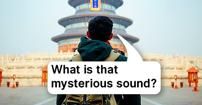 The boy couldn't decipher the strange sound coming from the temple. | Photo: Shutterstock