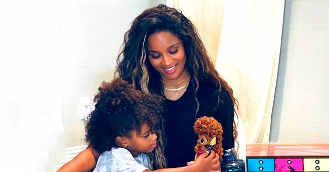 Ciara and Her Daughter Sienna Look like Twins in a Video Sporting Matching Pink Hairstyles