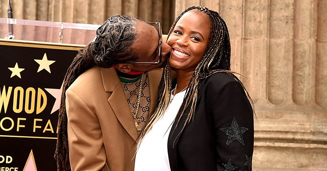 Snoop Dogg's Wife Shante Flaunts Baby Bump in Rare Throwback Photo with Husband