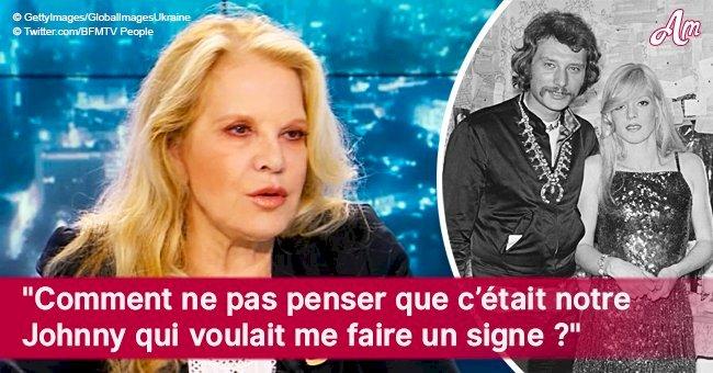 Comment Sylvie Vartan a reçu 'un signe' de Johnny Hallyday et 'l'a prouvé' par une photo