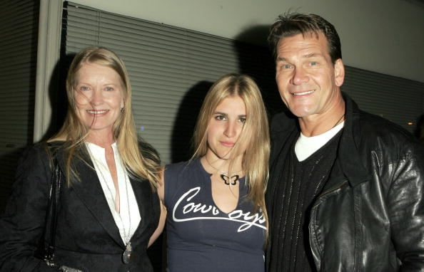 "Lisa Swayze, Danielle Swayze and late ""Dirty Dancing"" actor, Patrick Swayze 