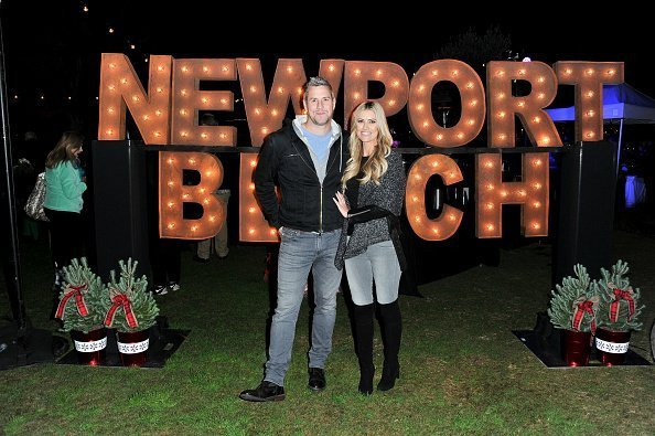 Christina Anstead and Ant Anstead attend the 111th Annual Newport Beach Christmas Boat Parade opening night at Marina Park | Photo: Getty Images