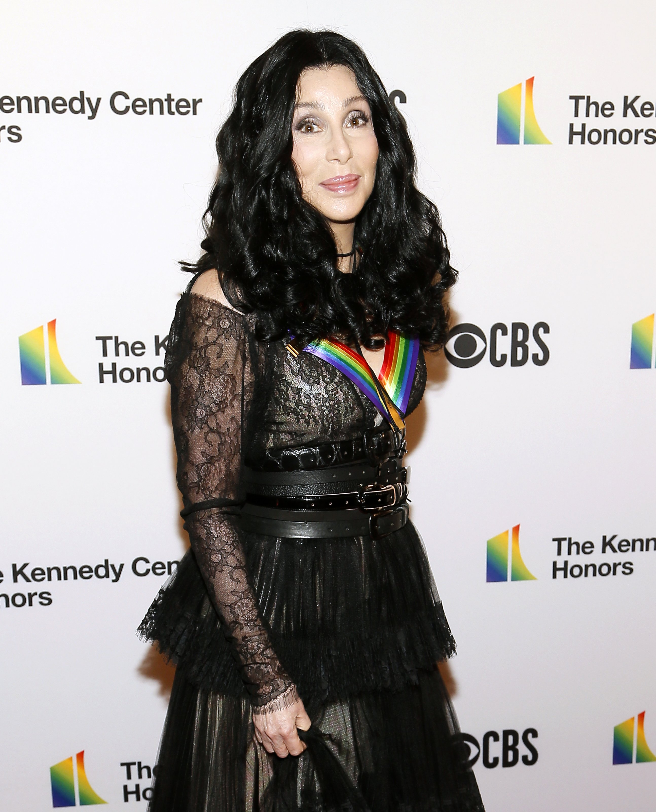 Cher arrives at the 2018 Kennedy Center Honors on December 02, 2018, in Washington, DC. | Source: Getty Images.